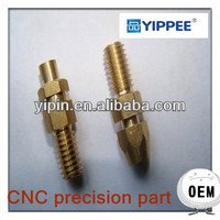 CNC precision turning turned machining part car used spare parts