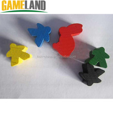Wooden Board Game Components/ Pieces/Pawns