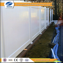 vinyl recycled plastic private fences