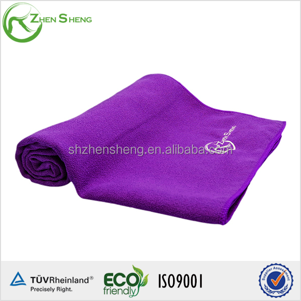 Zhensheng microfiber towel for yoga mat