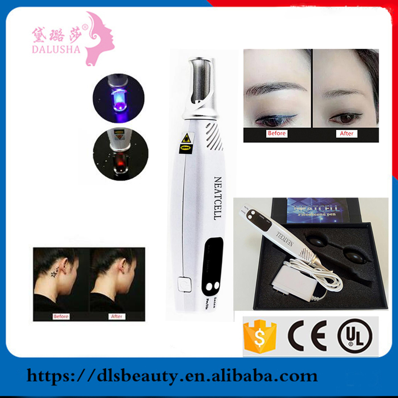 Portable mini Picosecond Pen Laser Tattoo Removal pen / Face Lift for home use