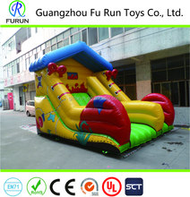 Fantastic shoe model inflatable bouncy dry slide for outdoor and indoor events