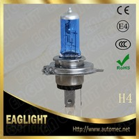 2016 E mark factory price H4 P43T 12V 60 55W Blue Automotive Halogen Bulbs