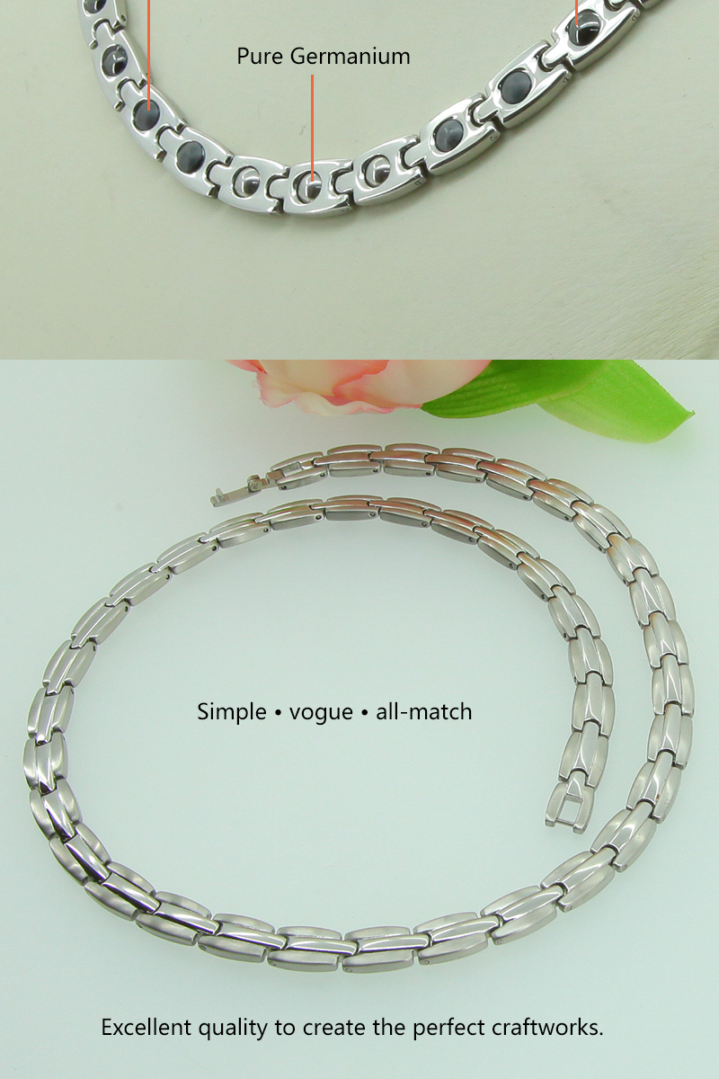 germanium ion therapy magnetic titanium necklace buy