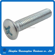 Cross recessed raised countersunk oval head screw M3-M8