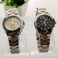 Water Resistant Men Casual Watch Japan Movt Quartz Watch with Stainless Steel Back Full Steel Watches Men