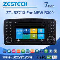 Car Video Recorder For BENZ NEW R300 car gps with auto radio Bluetooth SD USB Radio wifi 3G