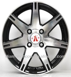 ZW-YL870 Hot new products for 2015 alloy wheel rim 4 hole 4x4 chrome wheels rims for trailer