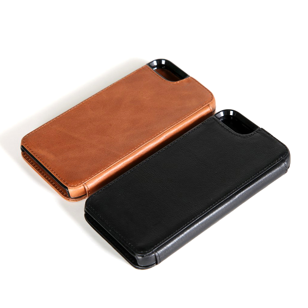 alian lecustom made hot-sale Handcrafted kickstand case leather sleeve for iphone 6