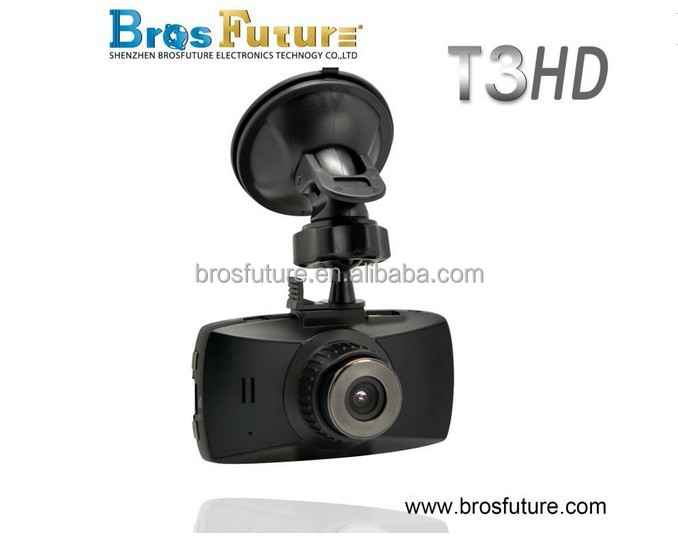 Car Black Box 120 degree 2.7big srceen NTK96220 dash mounted car cameras with G-sensor , loop recording Digital Video Camera