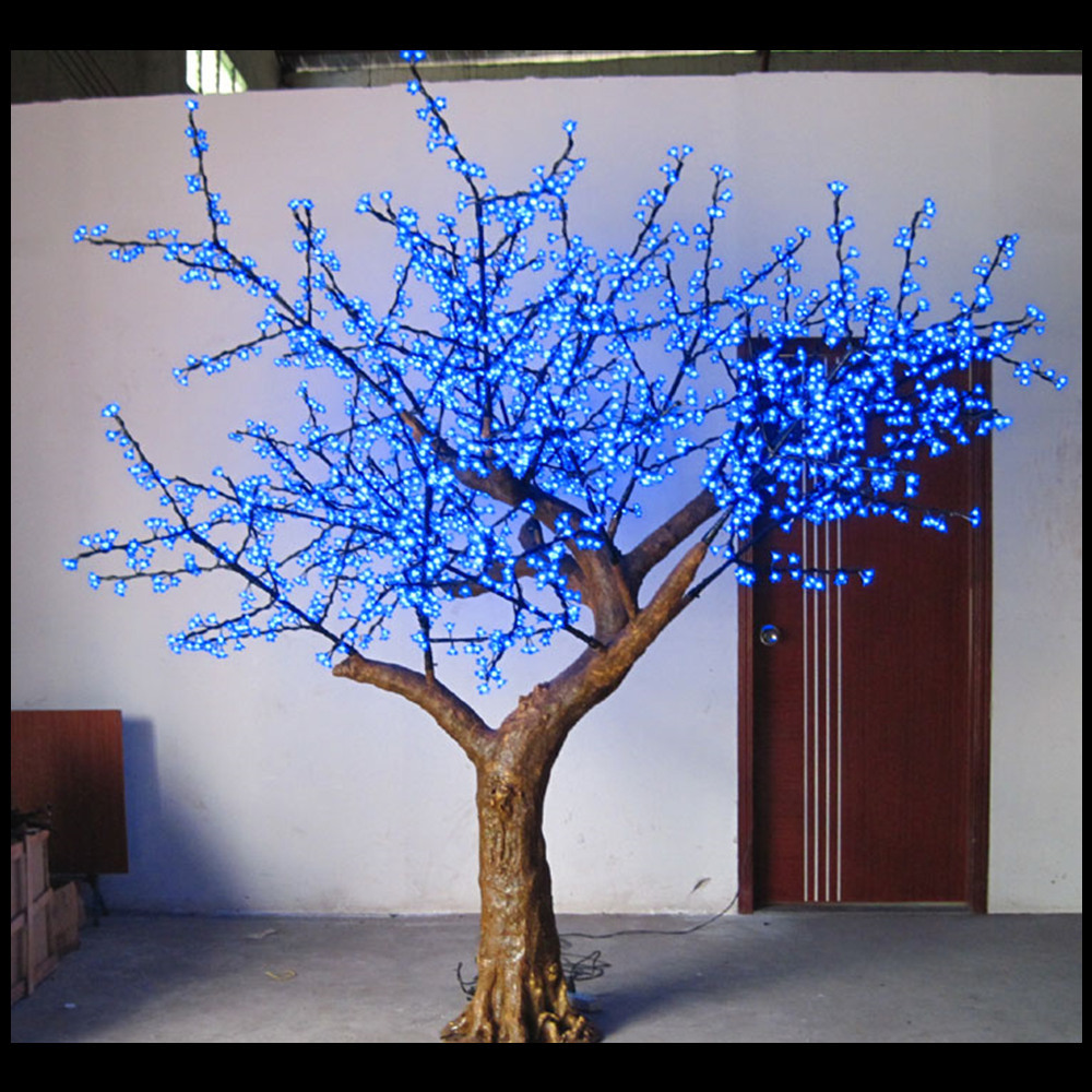 Outdoor romantic latest led stage decoration artificial for How to decorate outdoor trees with lights