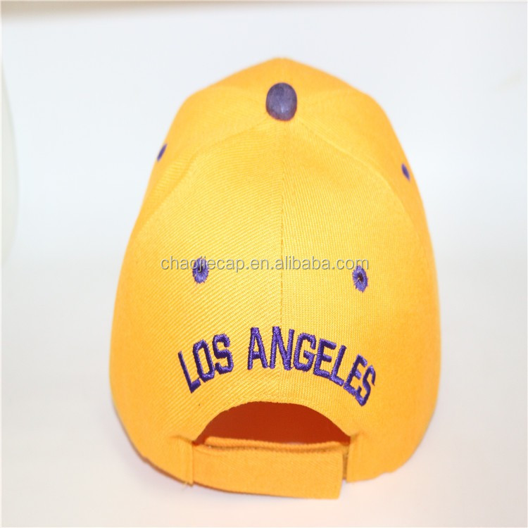 High quality baseball cap with PU visor