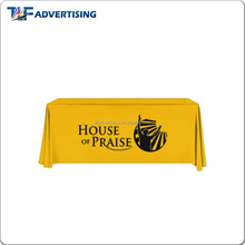 Advertising best tablecloth color with heat transfer printing