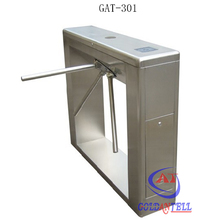 RFID card swipe entrance 304 stainless steel manual machine tripod turnstile price with fingerprint