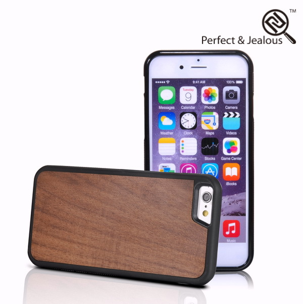 mobile phone accessories factory in china Natural wood bird nest case for iphone 6