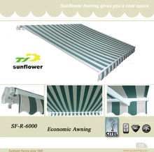 SF-R-6000 2.5x2m retractable awning <strong>hardware</strong>