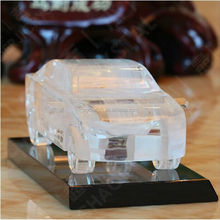 unique cut k9 crystal glass custom made model cars automobile decoration