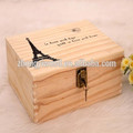 Decorative Wooden Ring Gift Box for Christmas Eve