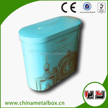 oval wholsale custom tin box packing
