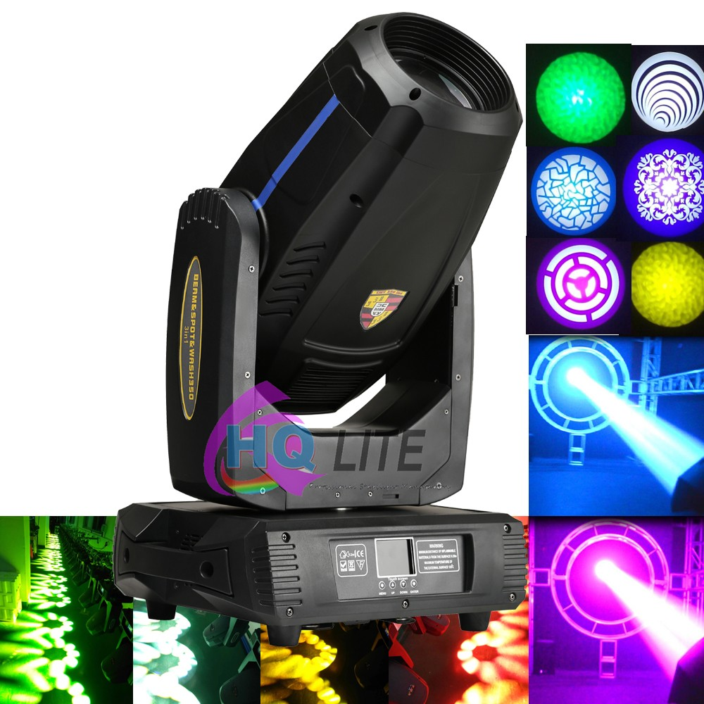High Quality China Stage Effect rotate Spot Wash 3 in1 17R 350W Beam Moving Head Disco Light