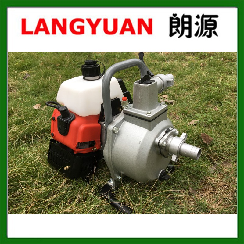 Small 2 inch 25mm 40.2cc gasoline water pump with 1E40F-6 engine