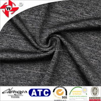 Chuangwei Textile Textured Knit Breathable Heavyweight Space-dyed 56% Nylon 40% Polyester 4% Eastane Fabric For Yoga Wear
