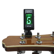 China factory ENO Chromatic clip on ukulele tuner guitar tuner bass tuner