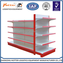 Cheap discount hot sales medium duty flat panel double side used store shelf
