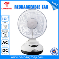 New Design Table Fan Specifications Rechargeable Standard Table Fan