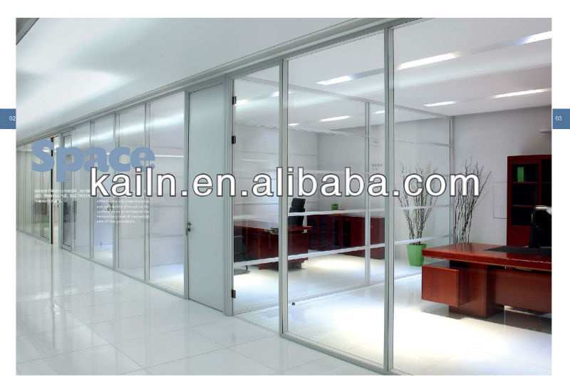 modern modular office glass wall divider - buy office glass wall