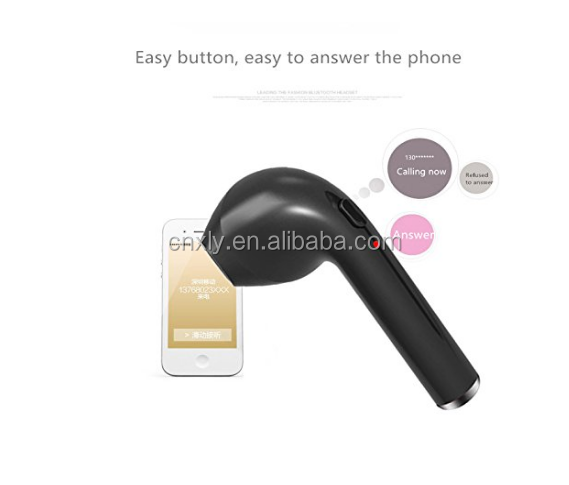 Super mini wireless stereo bluetooth headset for exercise,music earphone with microphone for calling up