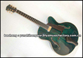 yunzhi fully handmade solid wood archtop electric guitar