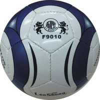 Hand sewing Double mirror PU leather soccer ball size 5