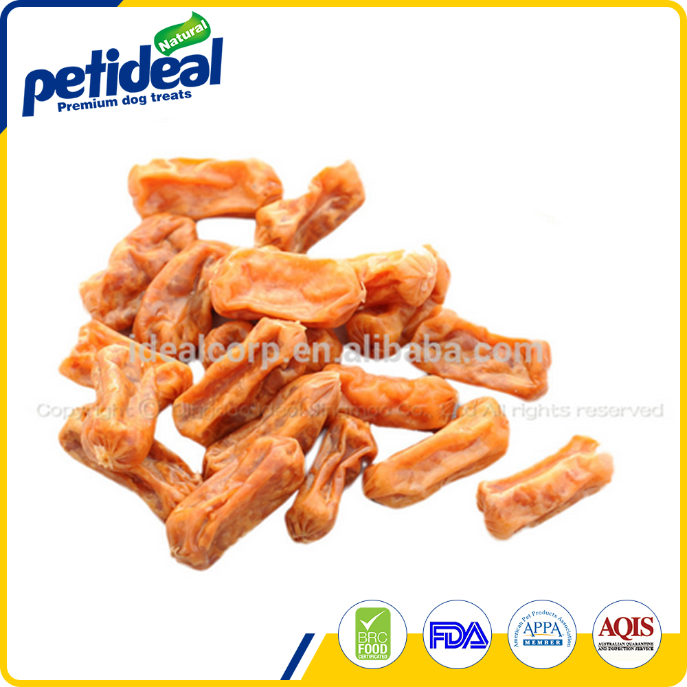 Natural chicken sausage bulk dog training treat