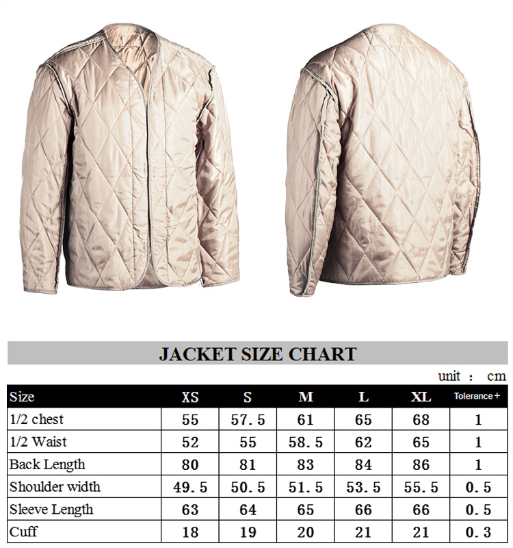 Factory Direct 3 Color Desert Army Jacket M 65