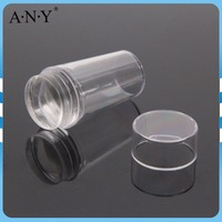 ANY Nail Stamping Design Tool Hot Sale Totally Clear Nail Stamper with Lid