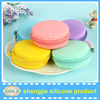Top Brand Printed Cheap Silicone Coin Purse Factory, Marca dragon cake mold shaped silicone change purse