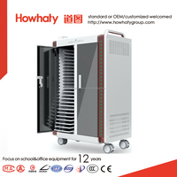 Howhaty new electronic design charging cabinet for ipad laptop