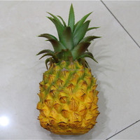 artificial pineapple friut for decorative table hotel