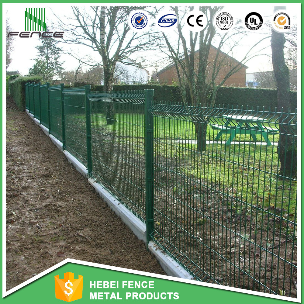 galvanzied welded wire mesh fence panel