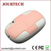 4000mAh popular gift polymer multiple cute mini powerbank with charging cable for samsung galaxy s2