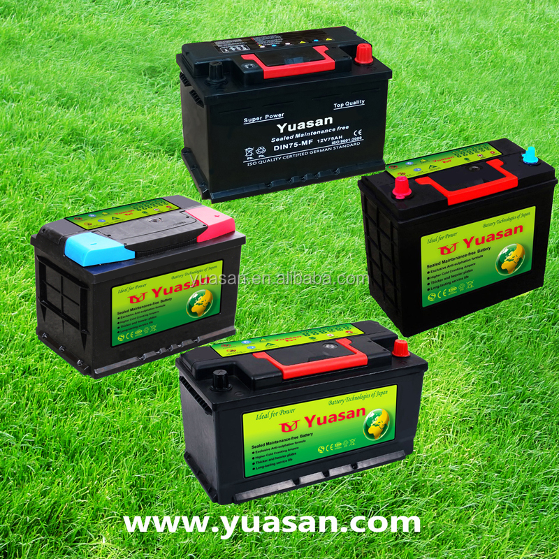 Yuasan 70AH Maintenance Free 12V Car Lead Acid Automobile Battery -80D26R
