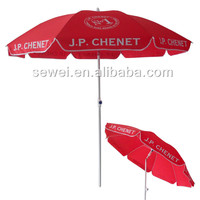 Wholesale Custom promotional advertising china cheap factory outdoor beach umbrella 2016