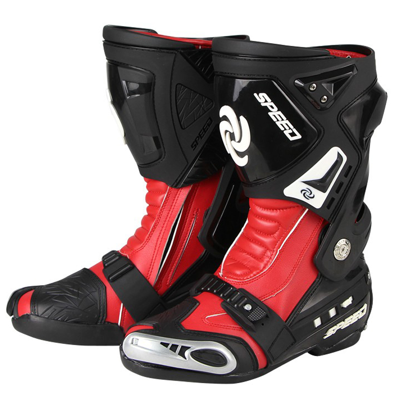 Safety Motocross Boot Fashion Man Motorcycle Riding shoes