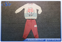 Winter Girl Clothing Set Two Piece Cotton Top Fashion Suits