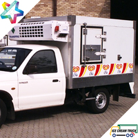 2.4m Eutectic Body Toyota Hilux pick up ice cream truck