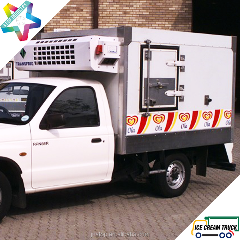 2.4m Eutectic truck Body Toyota Hilux pick up ice cream truck