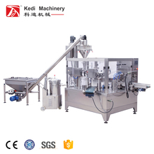 Corn Flour Automatic Rotary Premade Bag Packing Machine