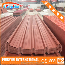 alibaba in spanish roof in pvc/roofing shingles prices/soundproofing pvc plastic roof tile