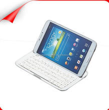 Aluminum Bluetooth Keyboard Case for Samsung Galaxy Tab 3 8.0 Tablet T310/T311